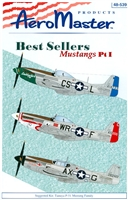 AeroMaster 48-539 Best Sellers Mustangs, Pt I