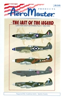 AeroMaster 48-549 The Last of the Legend, Late Far East Spitfires Part 2, 1945-1954