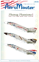 AeroMaster 48-555 - Phancy Phantoms, Part VI (VF-11 / VF-84 / VF-101)