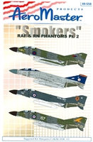 "AeroMaster 48-558 ""Smokers"" RAF & RN Phantoms, Part 2"