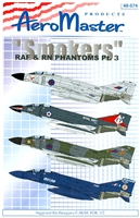 "AeroMaster 48-574 ""Smokers"" RAF & RN Phantoms, Part 3"