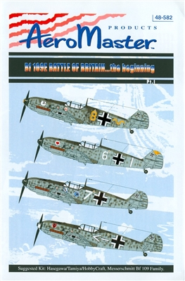 AeroMaster 48-582 Bf 109E Battle of Britain...the Beginning, Part I