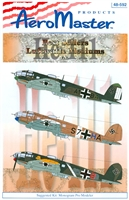 AeroMaster 48-592 Best Sellers Luftwaffe Mediums, He 111, Part II
