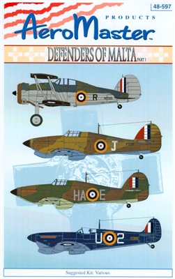 AeroMaster 48-597 Defenders of Malta, Part I