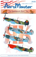 "AeroMaster 48-622 ""The Russians are Here!"" Part I (Yakolev Yak-1B, 3, 7B, 9P & 9T Fighters of the VVS 1943-47)"