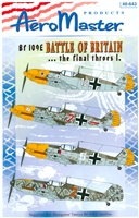 AeroMaster 48-643 Bf 109E Battle of Britain ... the final throes I