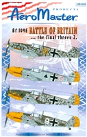 AeroMaster 48-645 Bf 109E Battle of Britain ... the final throes 3