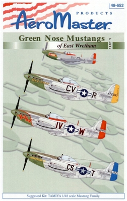 AeroMaster 48-652 Green Nose Mustangs of East Wretham, Part V
