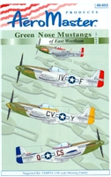 AeroMaster 48-653 Green Nose Mustangs of East Wretham, Part VI