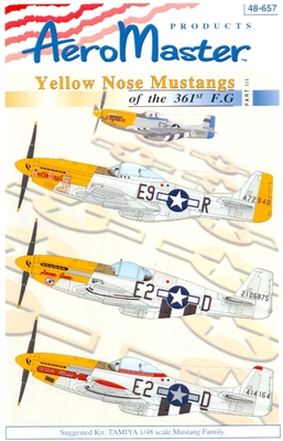 AeroMaster 48-657 Yellow Nose Mustangs of the 361st F.G., Part III