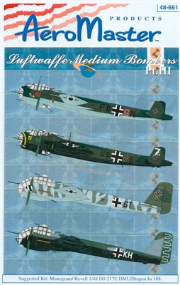 AeroMaster 48-661 Luftwaffe Medium Bombers, Part III