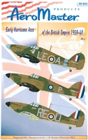 AeroMaster 48-663 - Early Hurricane Aces of the British Empire 1939-40, Part I