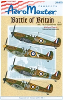 AeroMaster 48-679 - Battle of Britain Mk I & II Spitfires 1940, Part I