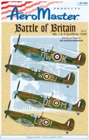 AeroMaster 48-680 Battle of Britain Mk I & II Spitfires 1940, Part II