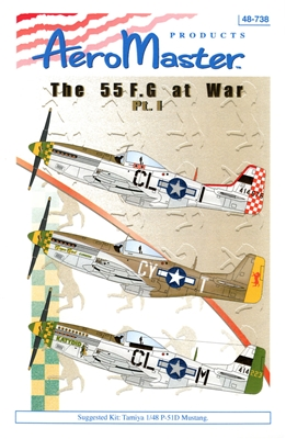 AeroMaster 48-738 The 55 F.G at War, Part I