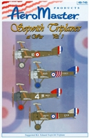 AeroMaster 48-745 Sopwith Triplanes at War, Part I