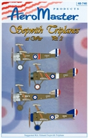 AeroMaster 48-746 Sopwith Triplanes at War, Part 2