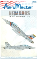 AeroMaster 48-760 New Bugs of the Fleet, Part I (F/A 18 E/F Super Hornets)