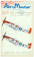 AeroMaster 48-775 - Blue Diamond Mustangs, 356 F.G., Part 5 (Fancy Nose Art)