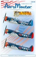 AeroMaster 48-783 The Wolf Pack, Part VII (The 56 F.G. in W.W. II, Fast and Furious but Late, the P-47M)