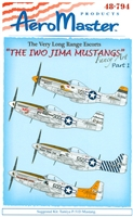 AeroMaster 48-794 The Iwo Jima Mustangs, Part 1 (Fancy Art)