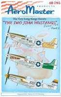 AeroMaster 48-795 The Iwo Jima Mustangs, Part 2 (Fancy Art)