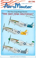 AeroMaster 48-796 The Iwo Jima Mustangs, Part 3 (Fancy Art)