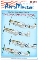 AeroMaster 48-797 The Iwo Jima Mustangs, Part 4 (Fancy Art)