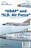 "AeroMaster 48-804 ""USAF"" and ""U.S. Air Force"" (Insignia Blue Markings)"