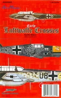 AeroMaster 48-805 Early Luftwaffe Crosses (Scale Sizes 600mm - 2000mm)