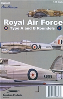 AeroMaster 48-807  Royal Air Force Type A & B Roundels