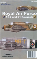 AeroMaster 48-808 - Royal Air Force A1-C & C1 Roundels