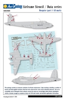 Aviaeology AOD24S05 - Mosquito (Part 1) All Marks, Airframe Stencil / Data Series