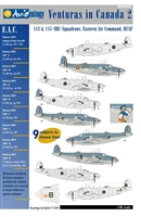 Aviaeology AOD48031 - Venturas in Canada 2:  113 & 145 (BR) Squadrons, Eastern Air Command, RCAF