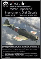 AirScale 24-JPN - WW2 Japanese Instrument Dial Decals