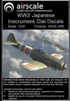 AirScale 32-JPN - WW2 Japanese Instrument Dial Decals