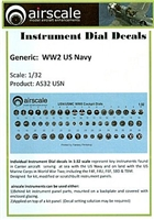 AirScale 32-USN - WW2 US Navy Instrument Dial Decals