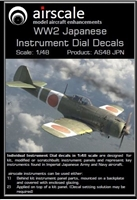 AirScale 48-JPN - WW2 Japanese Instrument Dial Decals