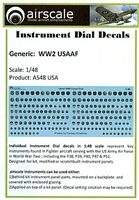 AirScale 48-USA - WWII USAAF Instrument Dial Decals
