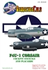 Barracuda BC-32129 - F4U-1 Corsair Cockpit Stencils and Placards