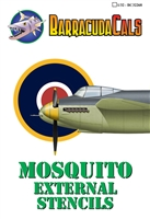 Barracuda BC32268 - Mosquito External Stencils