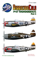 Barracuda BC-48003 - P-47 Thunderbolt, Part 3