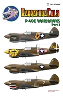 Barracuda BC-48006 - P-40E Warhawks, Part 1