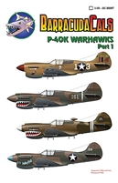Barracuda BC-48007 - P-40K Warhawks, Part 1