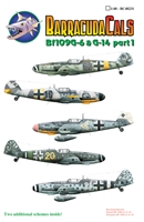 Barracuda BC-48231 - Bf 109G-6 and G-14, Part 1