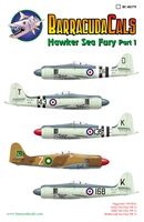 Barracuda BC-48379 - Hawker Sea Fury, Part 1