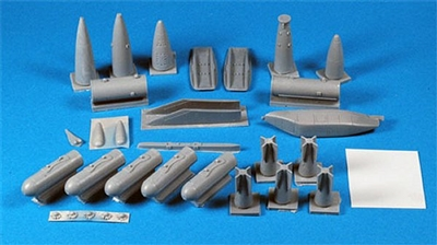 Belcher Bits BB14 - CF-104 Weapons Set