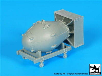Black Dog A48024 - Atom Bomb Fat Man