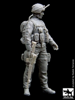 Black Dog F35017 - Canadian Soldier in Afghanistan No. 2