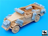 Black Dog T35049 - US M3A1 Scout Car Accessories